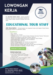 MILKINDO LOWKER - EDUCATIONAL TOUR STAFF