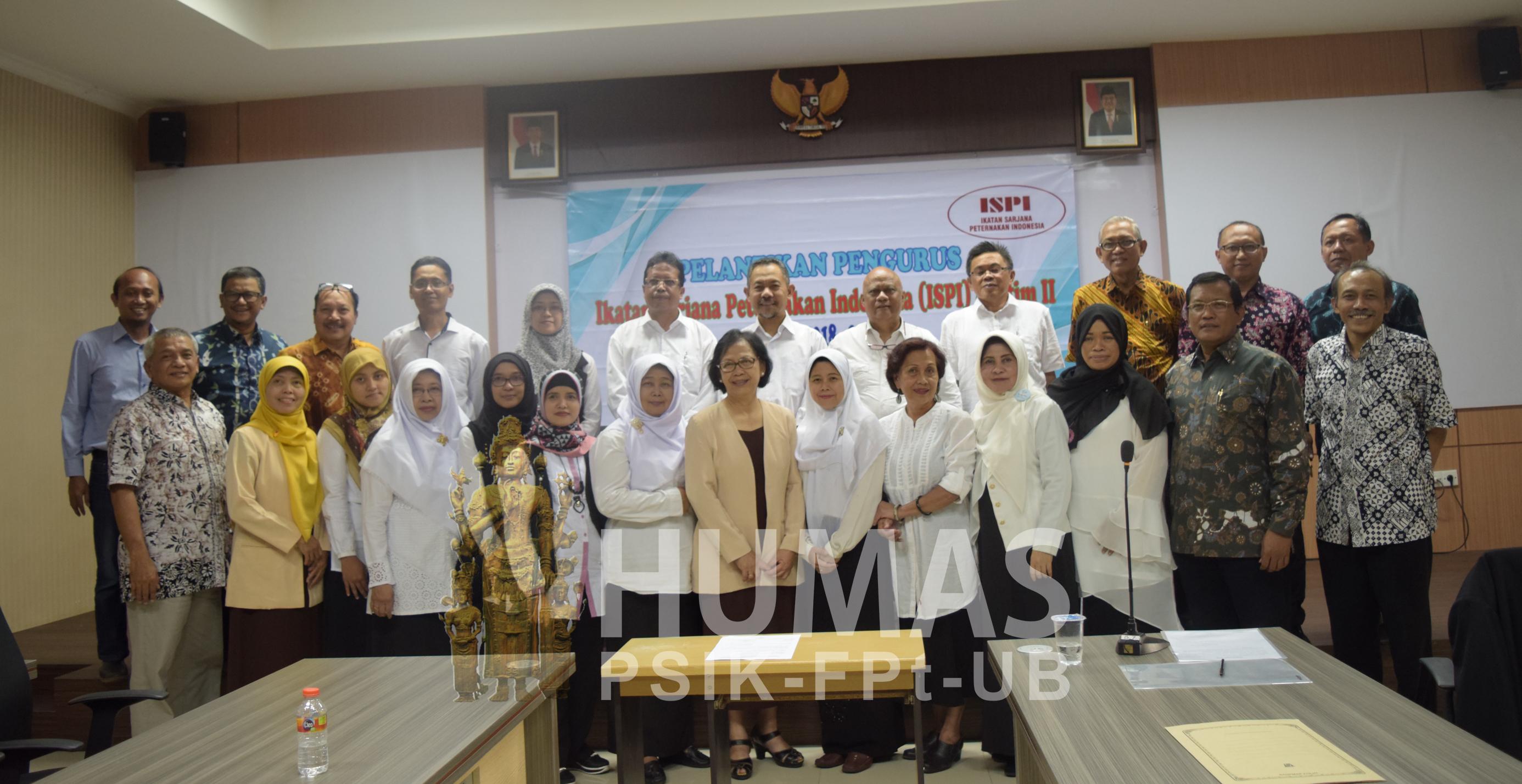 Pelantikan Pengurus Ikatan Sarjana Peternakan Indonesia Ispi Cabang Jatim Ii Periode 2018 2022 Fakultas Peternakan Universitar Brawijaya