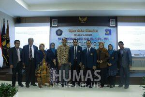 Ujian Disertasi Muhammad Ade Salim, S.Pt.,M.P