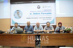 Lanjutkan Program Pembelajaran 3 in 1, Fapet UB Undang Praktisi Pakar Peternakan
