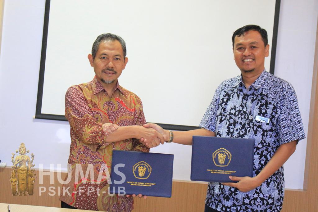 Fapet UB Gandeng PT. Super Unggas Jaya Rajut Kerjasama