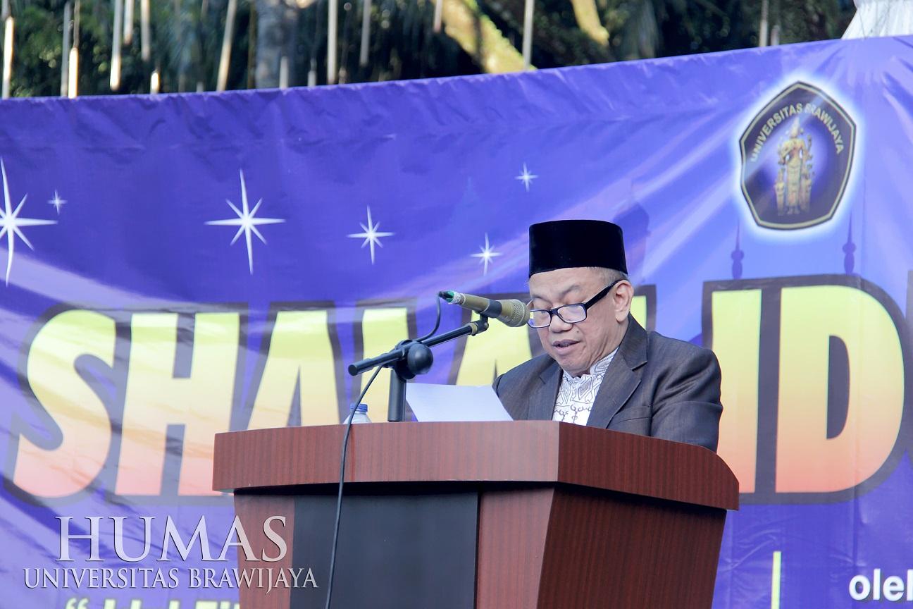 Guru Besar Fapet UB Ajak Bersikap Adil Melalui Idul Fitri