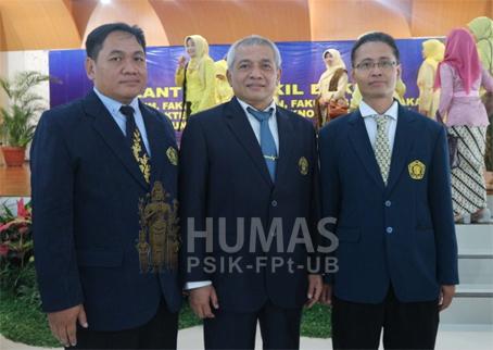 Usai Cuti Lebaran, Rektor UB Lantik Wakil Dekan Fapet