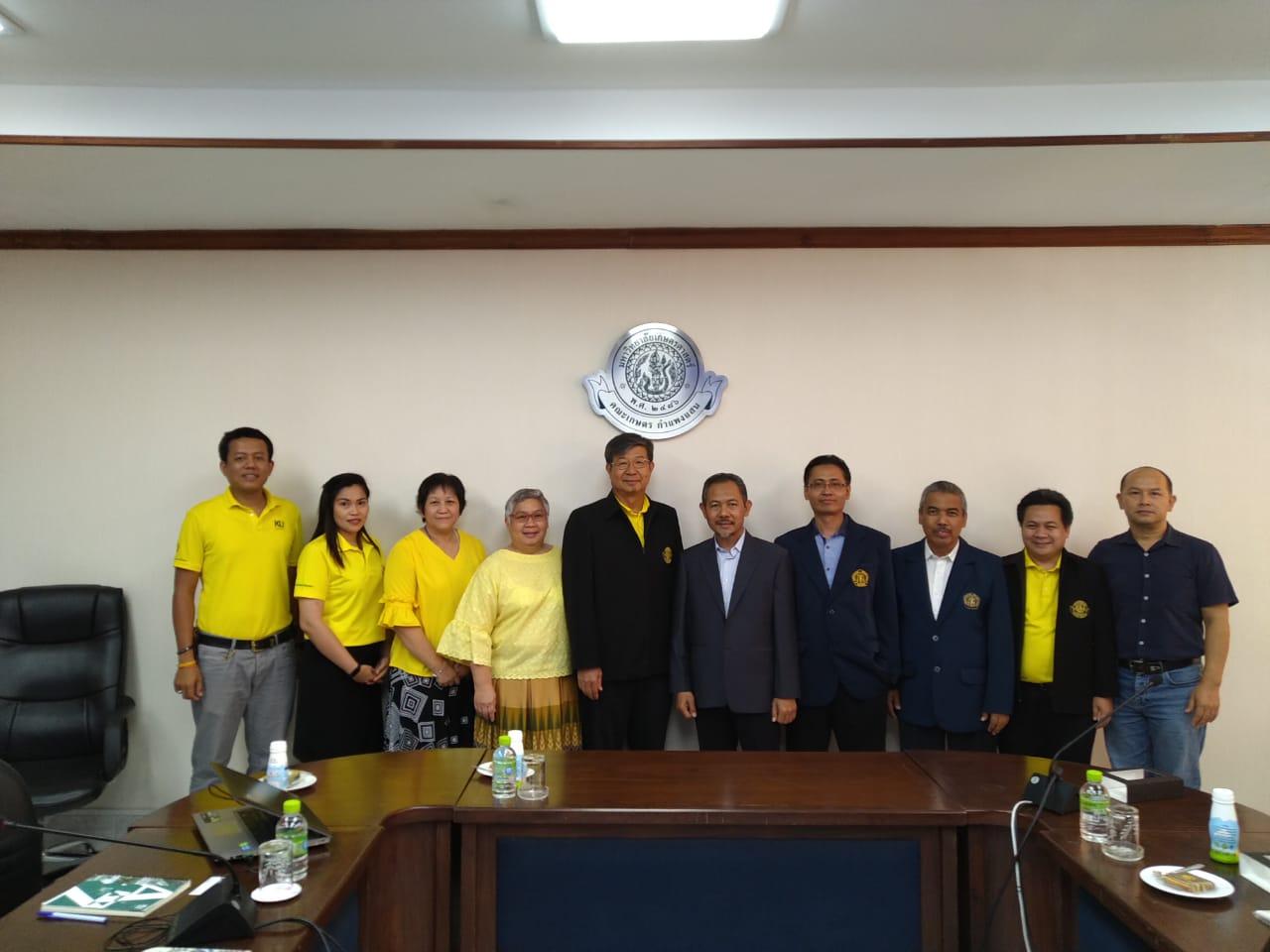Fapet UB Rancang Kerjasama dengan Kasetsart University, Thailand
