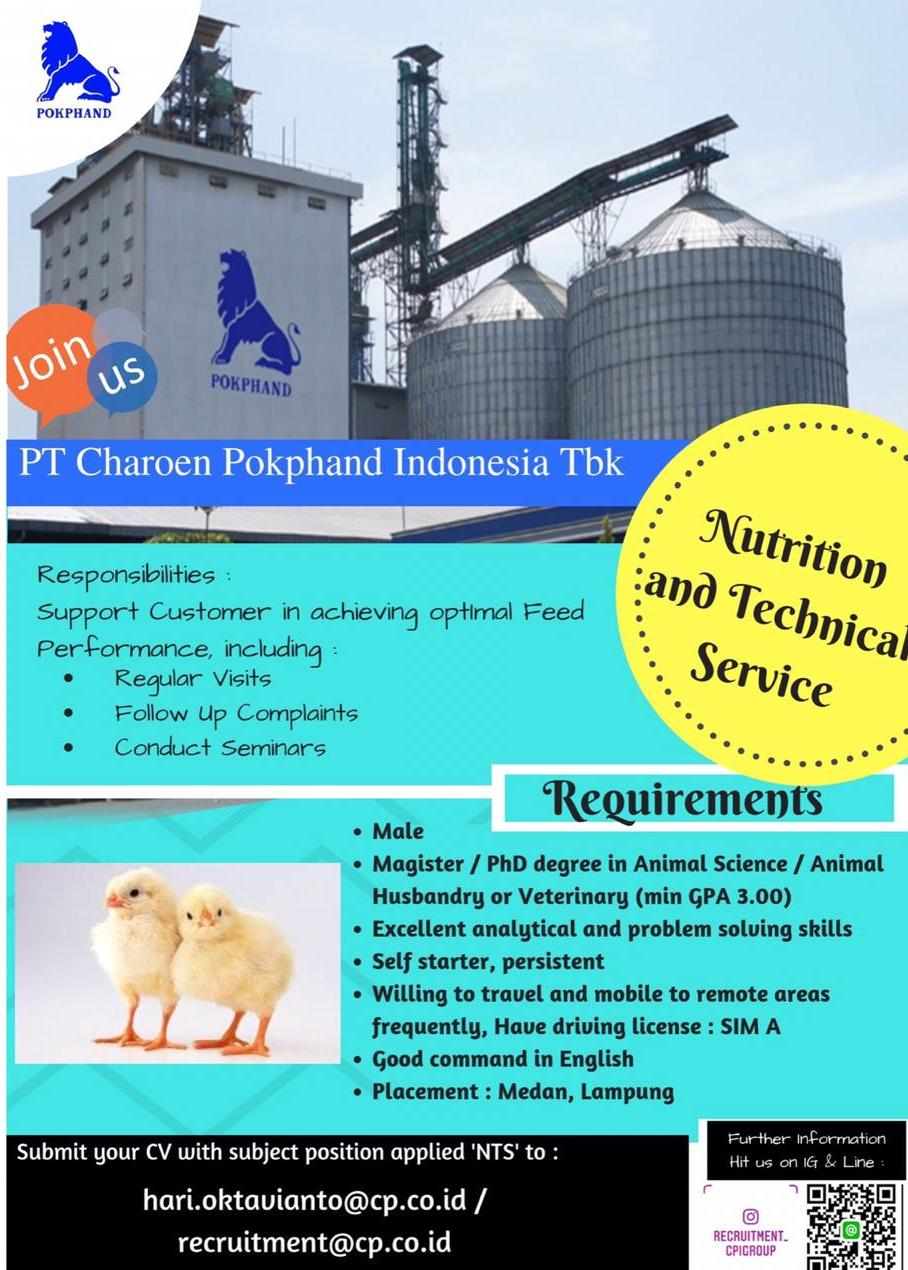 PT Charoen Pokphand Indonesia,Tbk