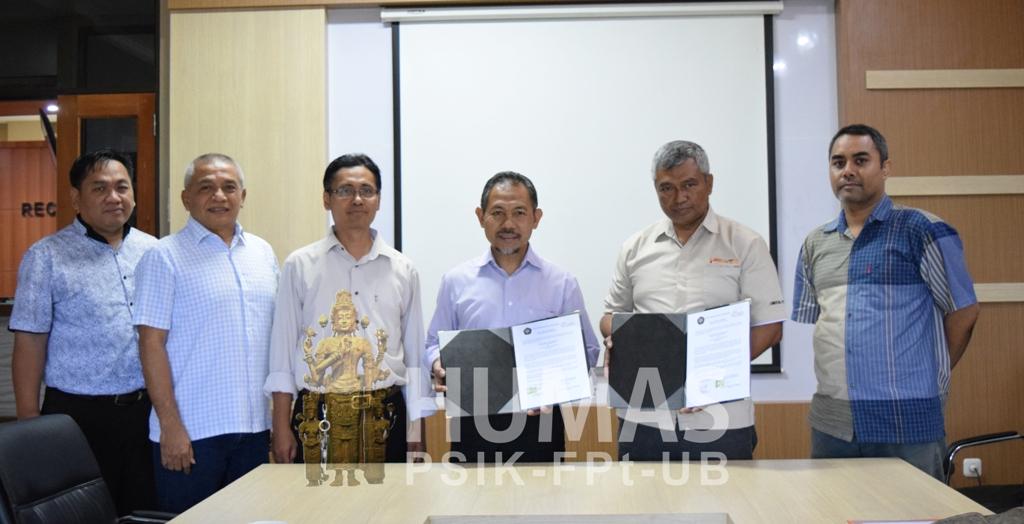 Tingkatkan Mutu Outcome Fapet UB Rajut Kerjasama dengan PT. Ciomas Adisatwa