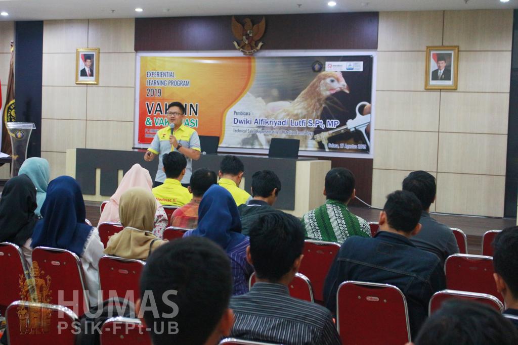 PT Medion Farma Jaya Berikan Experiential Learning pada Mahasiswa Fapet UB