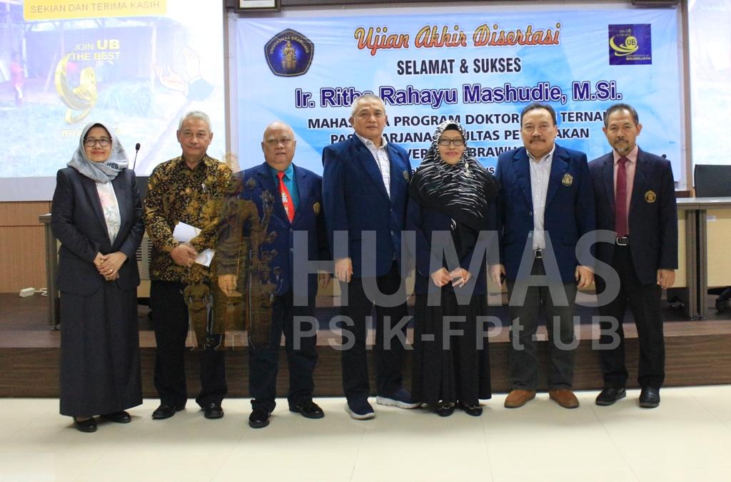 Disertasi Ritha Rahayu M. : Optimalisasi Usaha Kredit Sapi Potong di Kabupaten Donggala