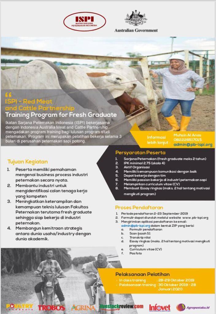 Program Training for Fresh Graduate
