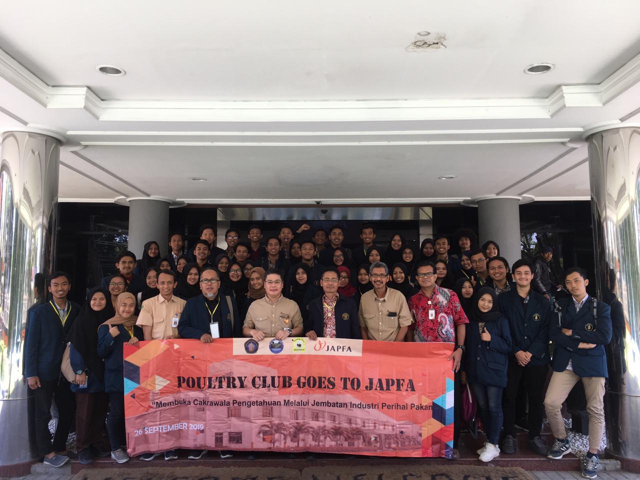 Perdalam Pengetahuan Pakan Ternak, BOS Kunjungi Japfa Comfeed Indonesia
