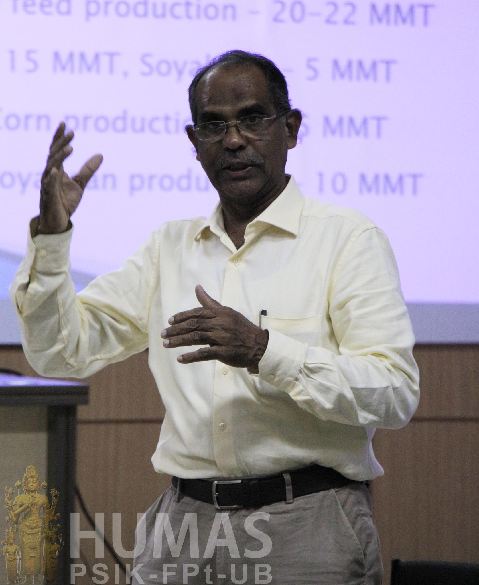Jalankan Perkuliahan Program 3 in 1, Fapet Datangkan Profesor dari India