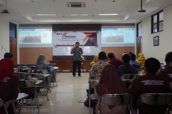 Workshop Gerakan Seratus PKM untuk Persiapkan Mahasiswa Ikuti Pimnas