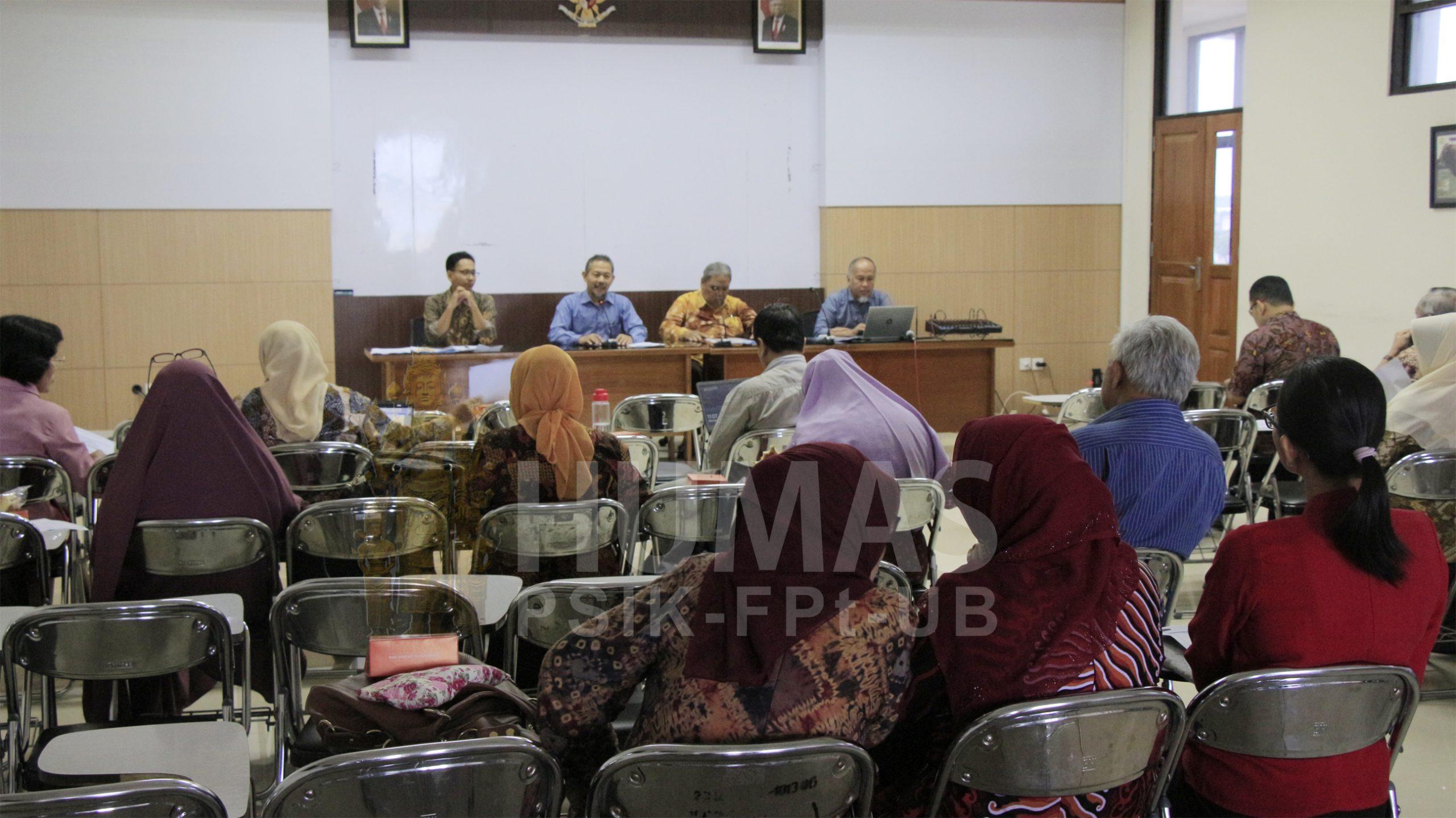 Siapkan Perkuliahan Semester Genap TA. 2019/2020 Program Pascasarjana Adakan Rapat