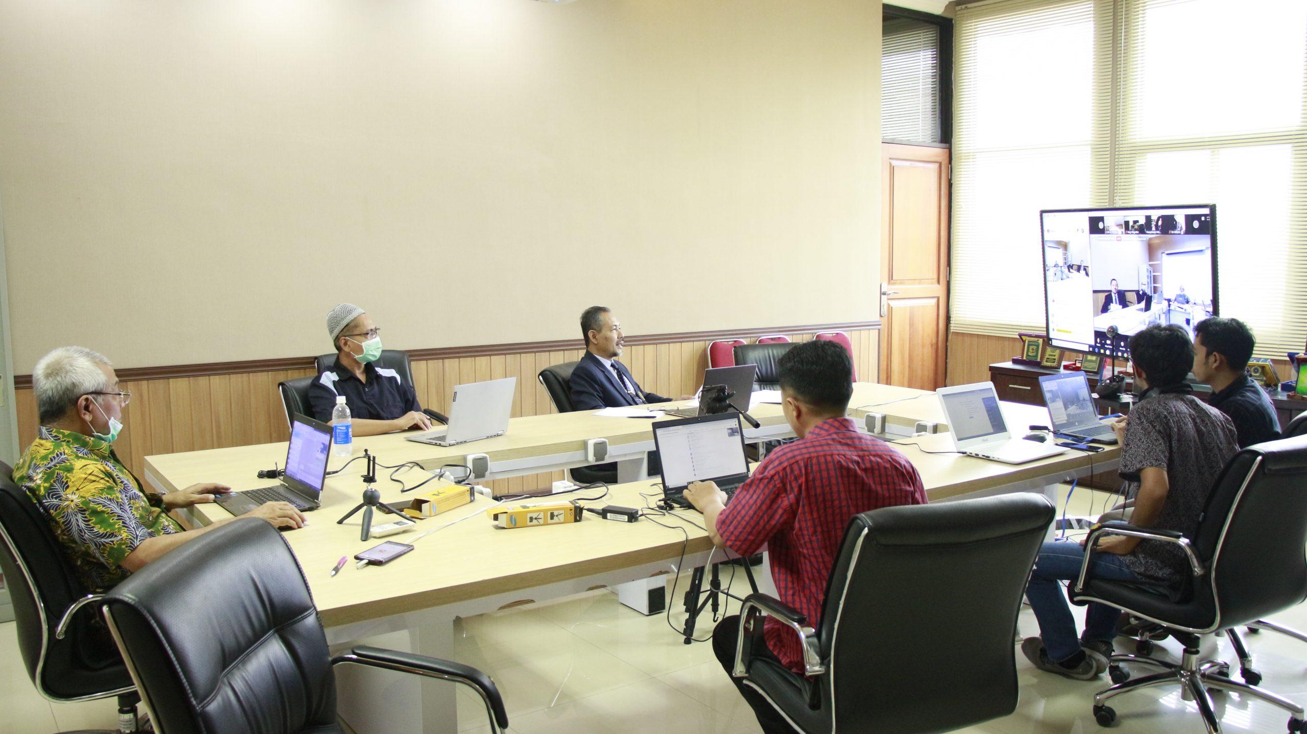 Evaluasi Kegiatan Akademik Secara Daring, Fapet UB Adakan Rapat Koordinasi