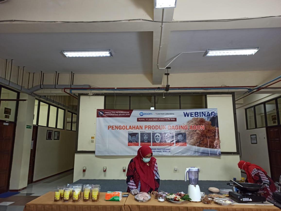 Produk Abon Solusi Simpan Daging Ayam Jangka Panjang