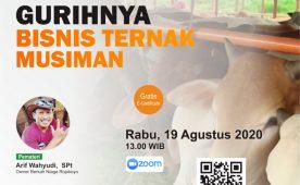 Seminar Online Bisnis Ternak Musiman