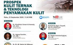 Seminar Online Prospek Kulit Ternak dan Teknologi Penyamakan Kulit