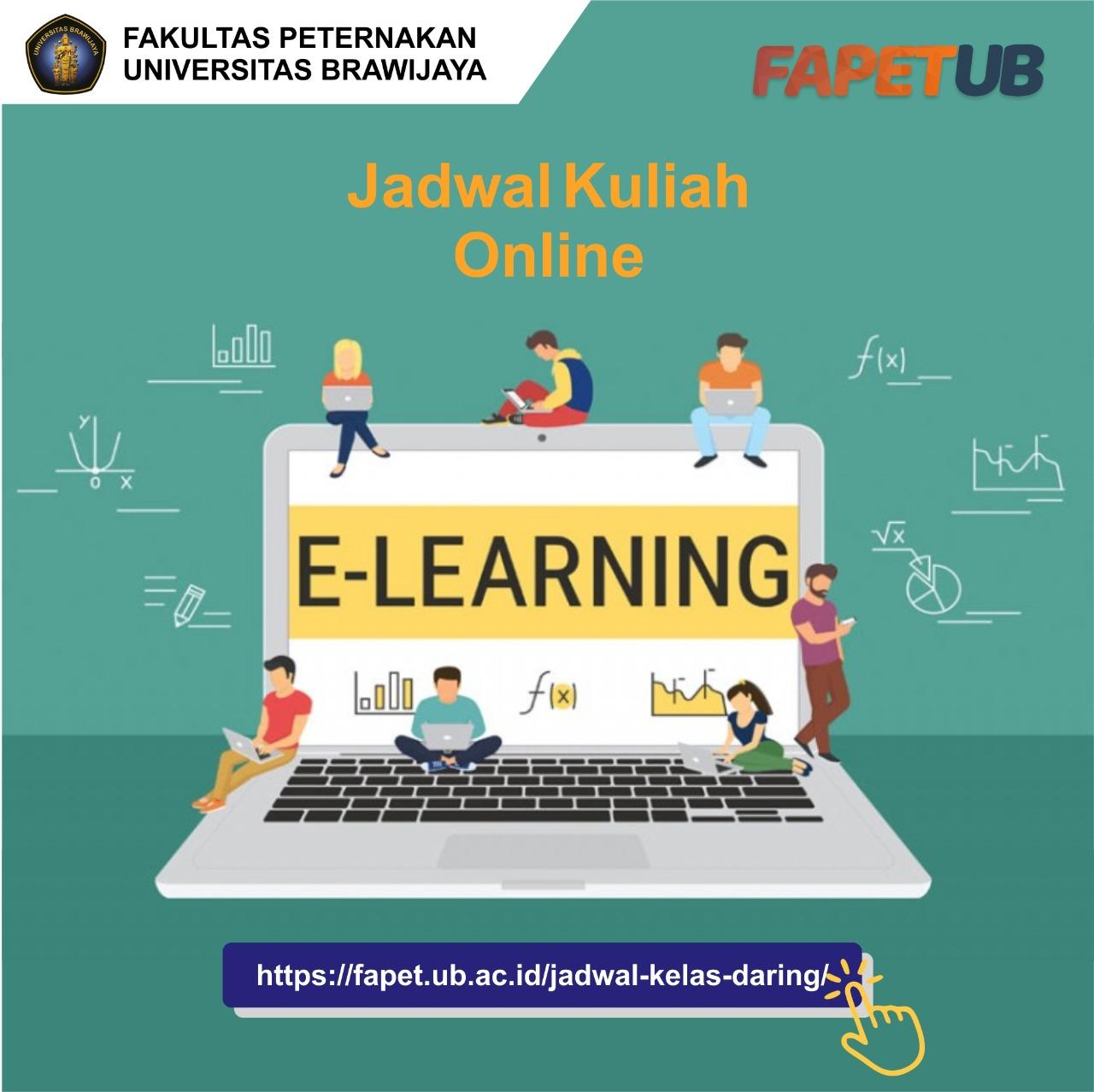 Jadwal Kuliah Online