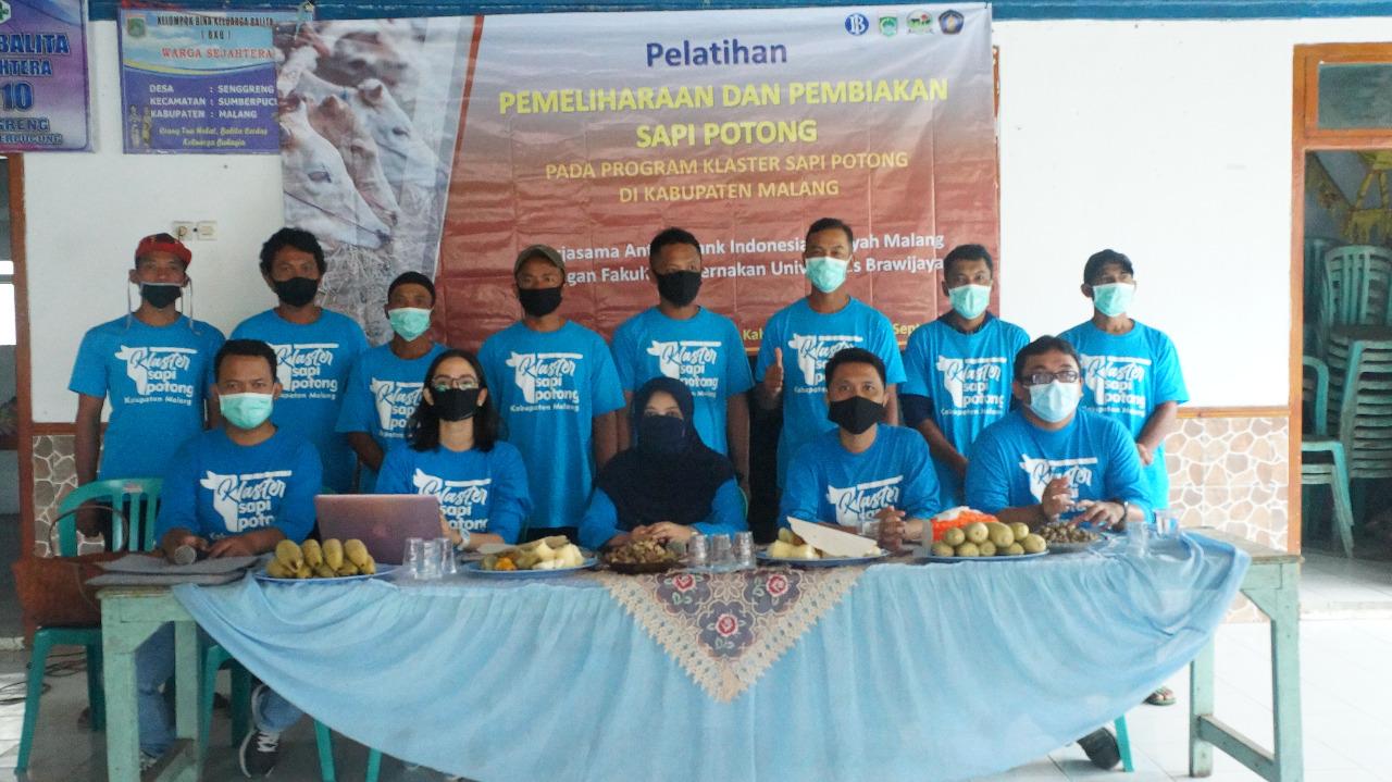 Pelatihan Pengembangbiakan Sapi Potong di Kabupaten Malang