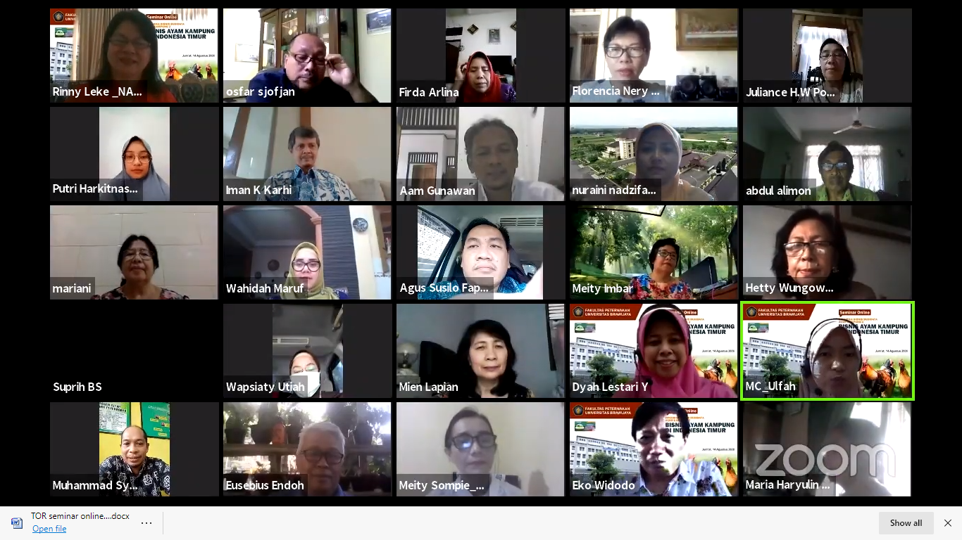 Dinamika Bisnis Ayam Kampung di Indonesia Timur