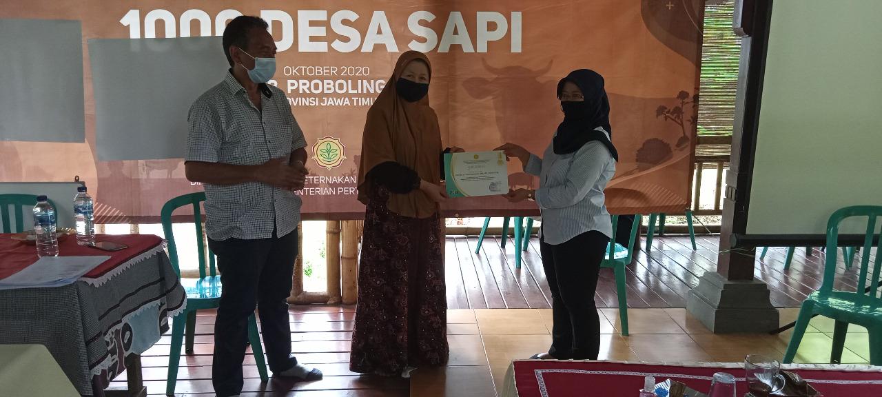 "Dosen Fapet UB Terapkan Program ""Seribu Desa Sapi"" di Probolinggo"