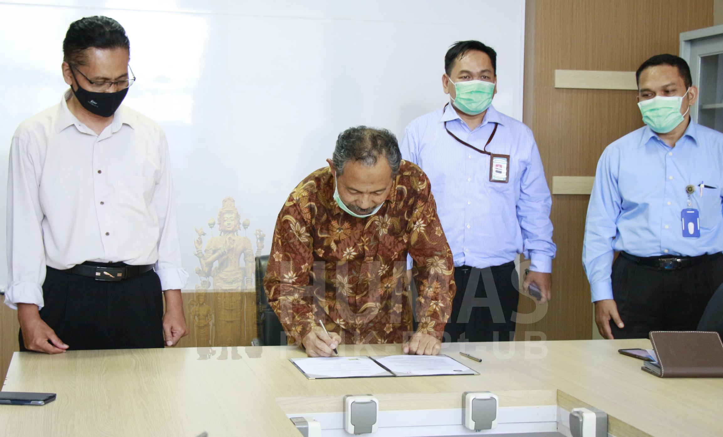 Implementasikan MBKM, Fapet UB Gandeng PT Widodo Makmur Perkasa