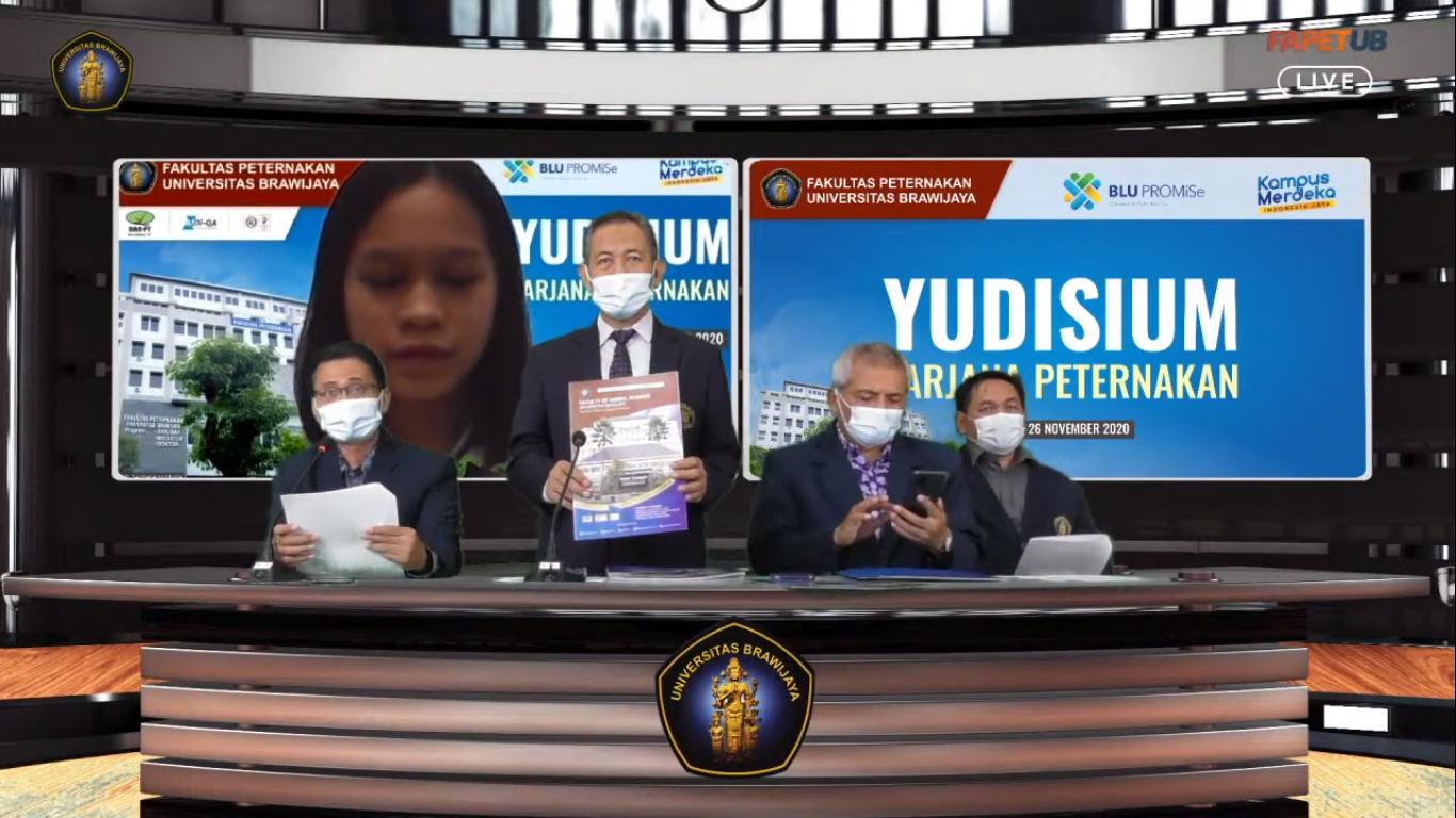 Yudisium Virtual Diikuti 25 Mahasiswa Program Sarjana