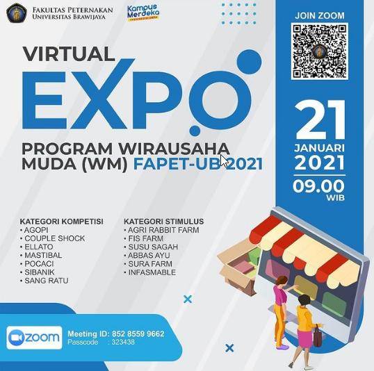 Virtual Expo untuk Promosikan Produk dari Wirausaha Muda Peternakan