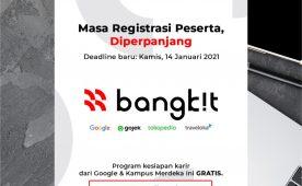 """Program Kesiapan Karir dari Google & Kampus Merdeka """"Bangkit"""""""