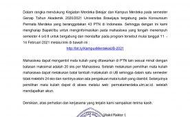 (Indonesia) Pendaftaran Permata Merdeka pada  Semester Genap TA. 2020/2021