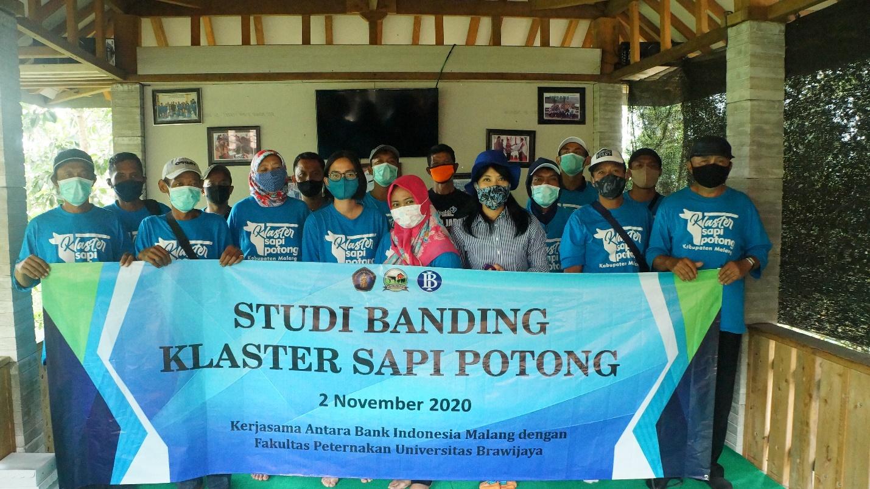 Tim Pendamping dan Anggota Klaster Sapi Potong Lakukan Studi Banding