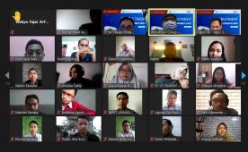 121 Pelamar Ikuti Rekrutmen Wonokoyo Group Secara Virtual