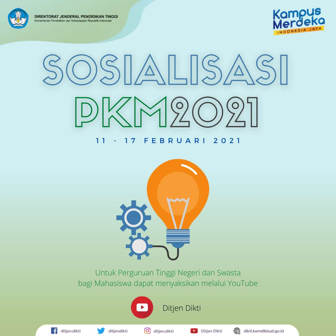 Sosialisasi PKM 2021