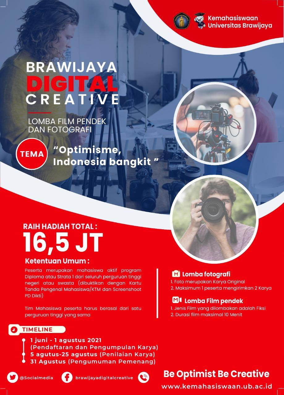 Brawijaya Digital Creative Short Film and Photography Competition