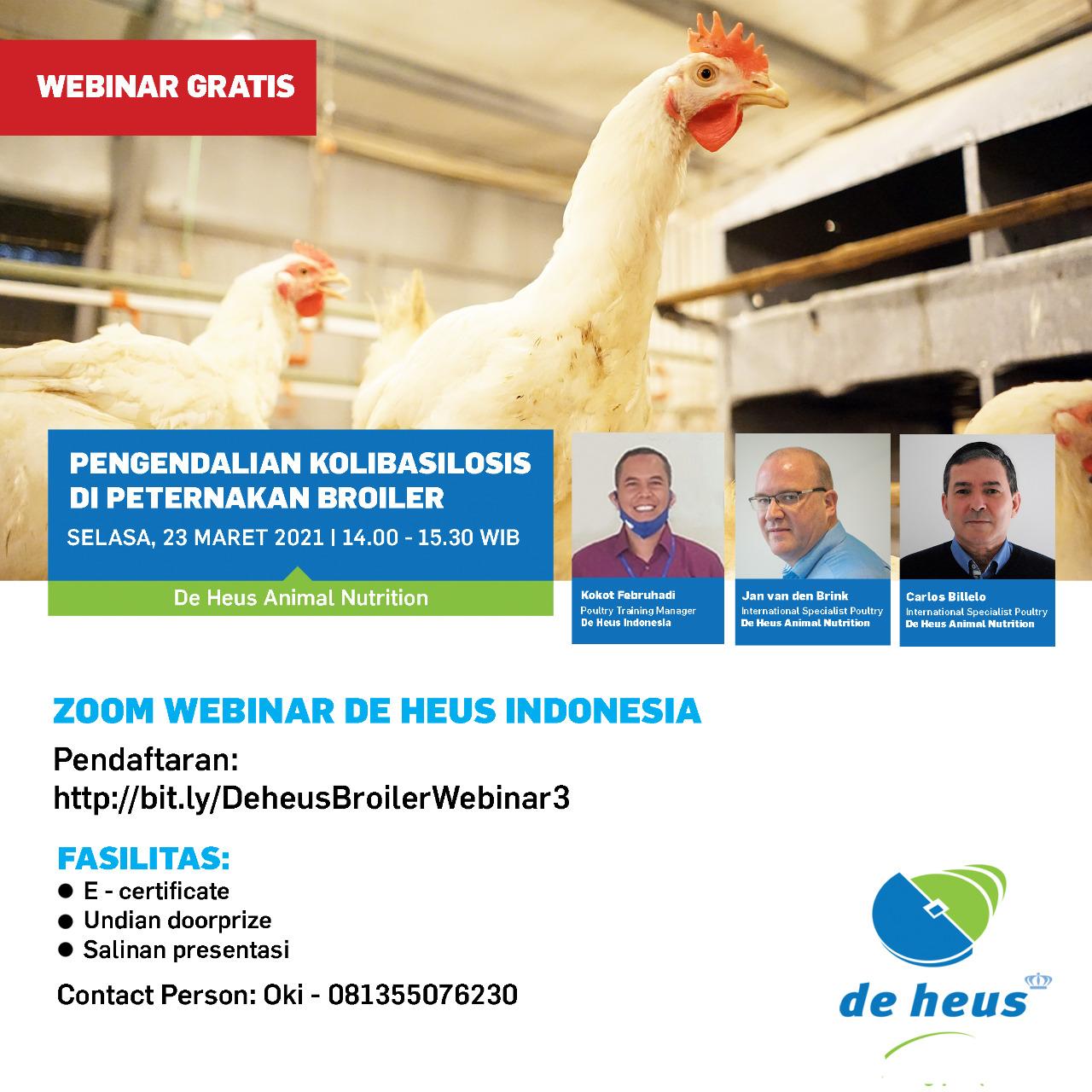 Webinar De Heus Indonesia