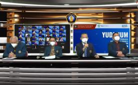 Penyerahan Gelar Akademik Melalui Yudisium Virtual