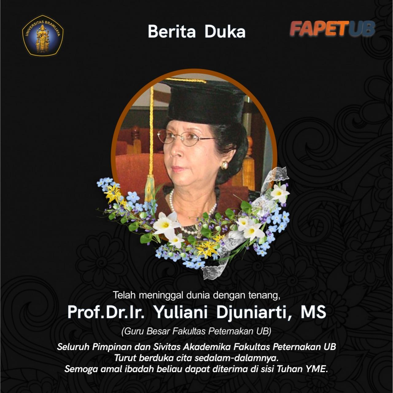 Retired Professor of Fapet UB Passes Away