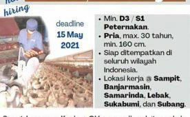 Job Vacancy as Farm Production Supervisor
